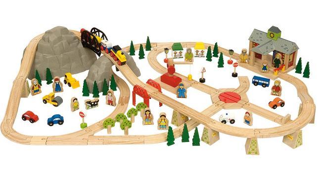 Kolejka drewniana BigJigs Rail