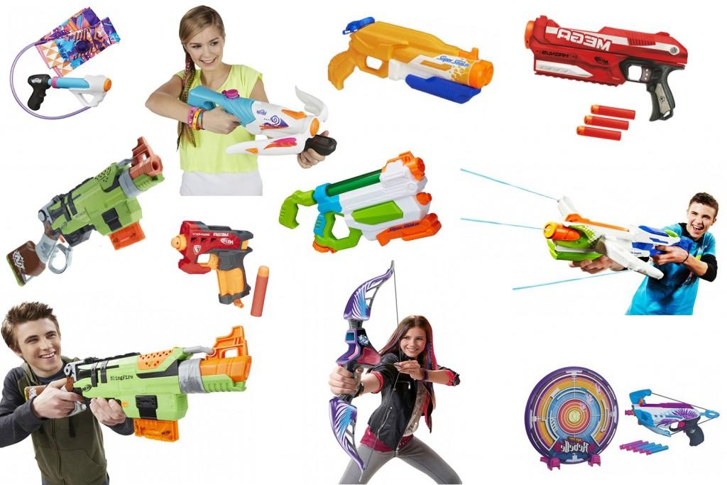 nerf-mega-pistolety-kusze-luki-strzalki-na-wode