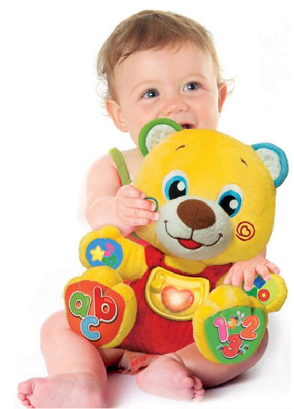 Interaktywny miś dla niemowląt Clementoni