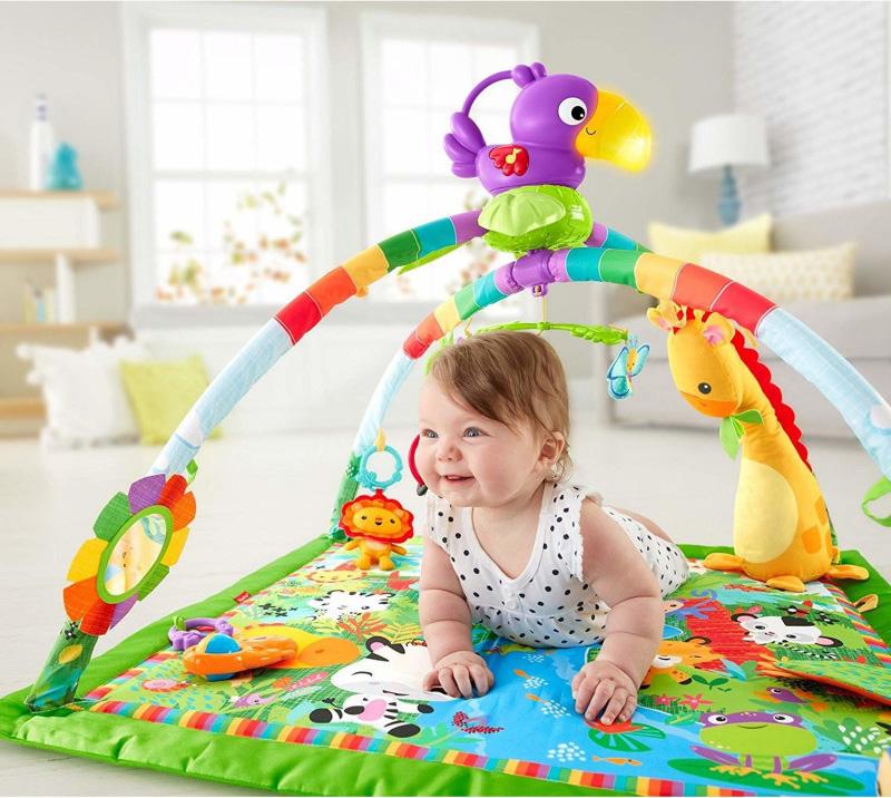 Interaktywna mata dla niemowląt Fisher Price