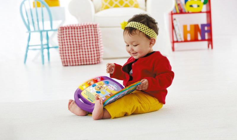 Książeczka edukacyjna dla dzieci od Fisher Price
