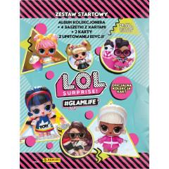 LOL Surprise! #Glamlife - Zestaw startowy Panini 0094