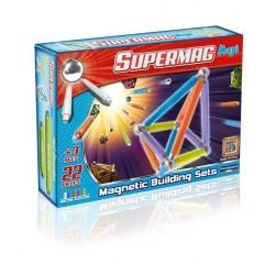 SUPERMAG 0114 Klocki magnetyczne Maxi - 22el. NEON