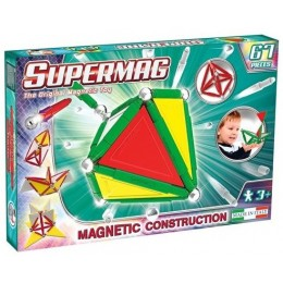 SUPERMAG - 0152 - Klocki magnetyczne - 67 el. - Primary