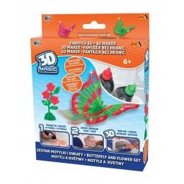 EPEE 02316 02616 Fabryka 3D - Zestaw Motylki i kwiaty