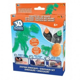 EPEE 02316 Fabryka 3D - Zestaw Dinozaury