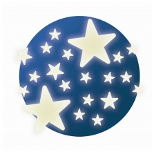 DJECO 04592 Fluorescencyjne gwiazdki