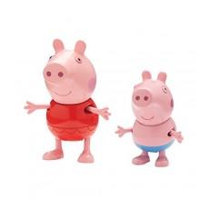 Świnka Peppa 05585 Wakacyjne figurki - Świnka Peppa i George