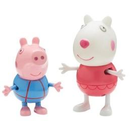 Świnka Peppa 05585 Wakacyjne figurki - Owieczka Suzy i George