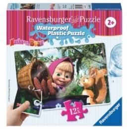 Ravensburger - Puzzle wodoodporne - Masza i Niedźwiedź - 056040
