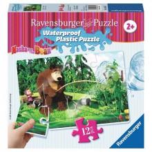 Ravensburger - Puzzle wodoodporne - Masza i Niedźwiedź - 056057