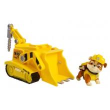 Psi patrol 16601 Pojazd z figurką - 0569 Rubble i koparka