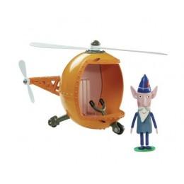 Małe królestwo Bena i Holly 05733 Helikopter mądrego elfa + figurka