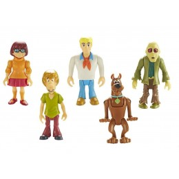 Scooby-Doo 05846 Zestaw pięciu figurek z Zombie