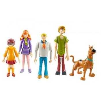 Scooby-Doo 05566 Tajemnicza Spółka - Zestaw pięciu figurek