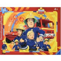 Ravensburger - Puzzle Strażak Sam -  061143