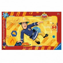 Ravensburger - Puzzle Strażak Sam - 061259