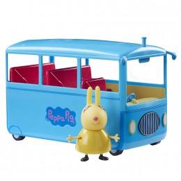 Świnka Peppa Szkolny autobus Rebeki z dźwiękiem 06518