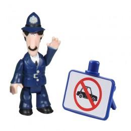 Listonosz Pat 06535 Zestaw figurek - Policjant Selby i znak drogowy