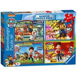 Ravensburger - Puzzle 4w1 - Psi Patrol - 070343