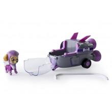 Psi patrol 16601 - Pojazd z figurką - 0748 Skye i rakieta kosmiczna