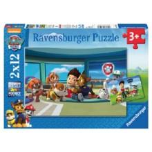 Ravensburger - Puzzle 2w1 - Psi Patrol - 075980