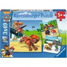 Ravensburger - Puzzle 3w1 - Psi Patrol - 092390