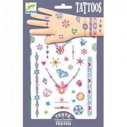 DJECO Tatuaże metaliczne - klejnoty Jenni 09587