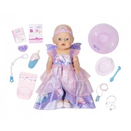 ZAPF CREATION Lalka BABY BORN Interaktywna - Księżniczka-wróżka 824191