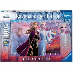 Ravensburger- Puzzle - Frozen II - 100 elementów XXL - 128686
