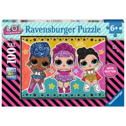Ravensburger - L.O.L. Suprise! - 100 elementów XXL - 128815