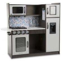 Melissa & Doug - Drewniana, nowoczesna kuchnia z wyposażeniem - 14010