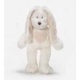 TeddyKompaniet 1555 Maskotka Przytulanka Biały Zając mały 33 cm