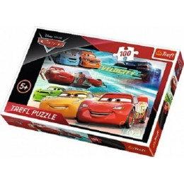 Trefl - Puzzle Cars3 Auta - Bohaterowie wyścigu 100 el. - 16337