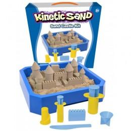 Kinectic Sand 190 Piasek kinetyczny - Zestaw Zamek z foremkami 2,5kg