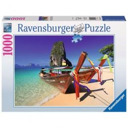 Ravensburger - Puzzle Karaibska plaża1000 el - 194773