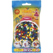 Koraliki HAMA MIDI 1000 Koralików 207-66 mix kolorów nr 66