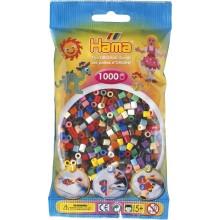 Koraliki HAMA MIDI 1000 Koralików 207-67 mix kolorów nr 67