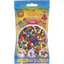 Koraliki HAMA MIDI 1000 Koralików 207-68 mix kolorów nr 68