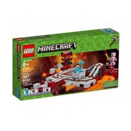 LEGO® Minecraft™ 21130 Linia kolejowa w Netherze