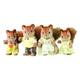 Sylvanian Families 4172 Zestaw figurek - rodzina wiewiórek