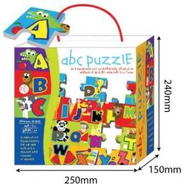 Puzzle piankowe mata alfabet - 3253HT