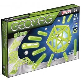GEOMAG Klocki magnetyczne - 336 - Glow 64 elementy