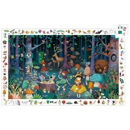DJECO 07504 Puzzle obserwacyjne LAS