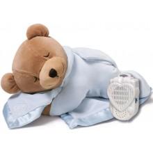 Prince Lionheart 0022B Tummy Sleep - Miś niebieski