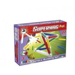 SUPERMAG 0101 Klocki magnetyczne Maxi 22el. - Podstawowe kolory