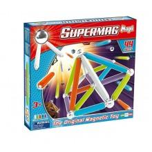 SUPERMAG 0115 Klocki magnetyczne Maxi - 44 el. NEON