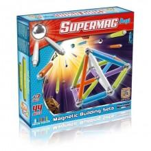 SUPERMAG 0116 Klocki magnetyczne Maxi - 66el. NEON