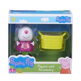 Świnka Peppa 06381 Zestaw figurka + akcesoria - Suzy i koszyk