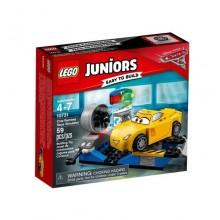 Klocki LEGO Juniors 10731 Symulator wyścigu Cruz Ramirez